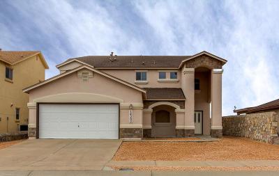 El Paso Single Family Home For Sale: 14360 Arabian Point