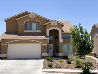 El Paso Single Family Home For Sale: 7616 Wolf Creek Drive