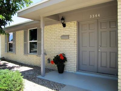 El Paso Single Family Home For Sale: 3344 Wexford Drive