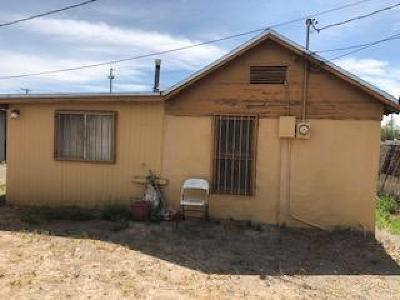 El Paso TX Single Family Home For Sale: $60,000