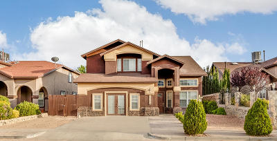 Horizon City Single Family Home For Sale: 13720 Paseo Alegre Avenue