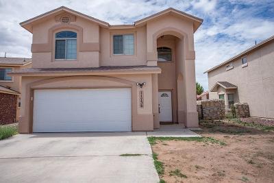 El Paso Single Family Home For Sale: 11736 Snow Cloud Court