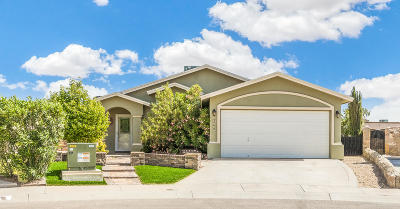 El Paso Single Family Home For Sale: 2601 Tanning Rock Way