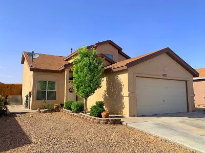 El Paso Single Family Home For Sale: 14223 Lasso Rock Drive