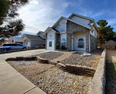El Paso Single Family Home For Sale: 12145 Tower Hill Drive