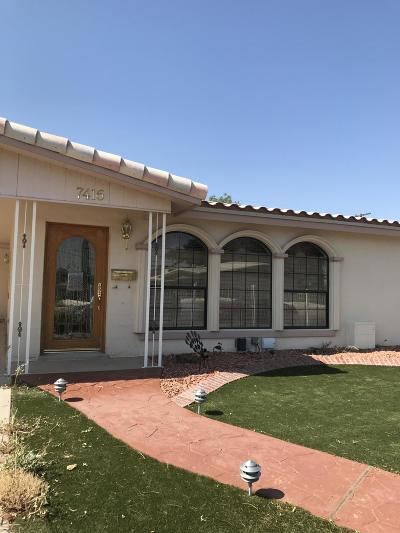El Paso TX Single Family Home For Sale: $195,000