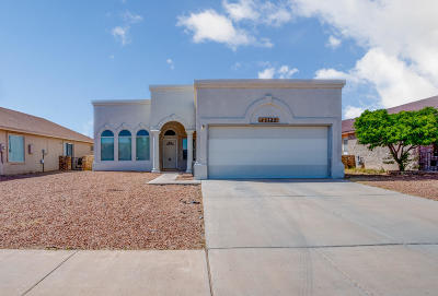 El Paso Single Family Home For Sale: 14125 De Stefano Lane