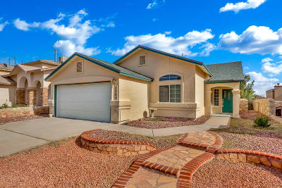El Paso TX Single Family Home For Sale: $138,000