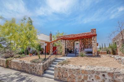 El Paso Single Family Home For Sale: 1407 N Florence Street