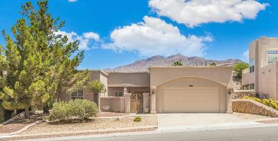 El Paso Single Family Home For Sale: 6125 Los Fuentes Drive
