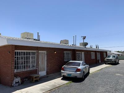 El Paso Multi Family Home For Sale: 3812 Hayes Avenue #A,  B,