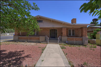 El Paso Single Family Home For Sale: 416 Cincinnati Avenue