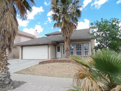 El Paso Single Family Home For Sale: 12221 Bill Mitchell Drive