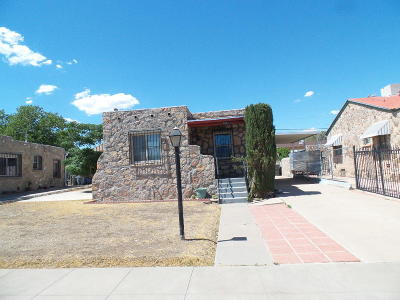 El Paso Single Family Home For Sale: 3727 Mobile Avenue