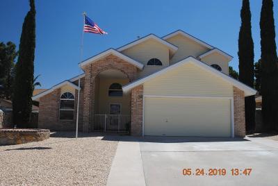 El Paso Single Family Home For Sale: 4356 Loma Alegre Drive