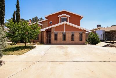 El Paso TX Single Family Home For Sale: $140,000