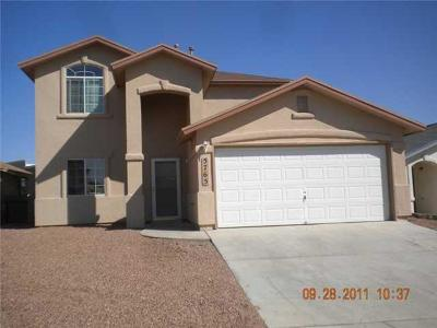 El Paso TX Single Family Home For Sale: $125,500