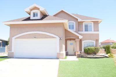 Single Family Home For Sale: 3416 Tea Rose Place