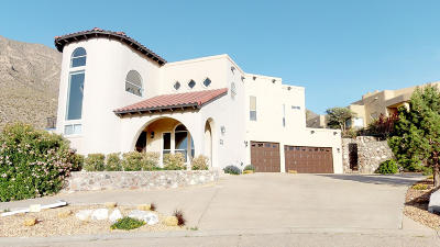 El Paso Single Family Home For Sale: 528 Thunder Crest Lane
