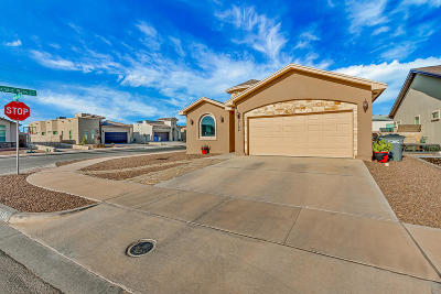 El Paso Single Family Home For Sale: 2164 William Woolverton Place