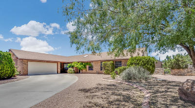 Vista Del Sol Single Family Home Pending Accepting Offers: 10921 Gary Player Drive