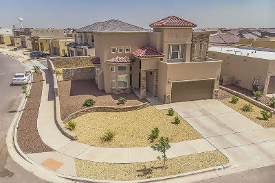 El Paso Single Family Home For Sale: 13614 Keighly