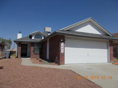 El Paso TX Single Family Home For Sale: $104,900