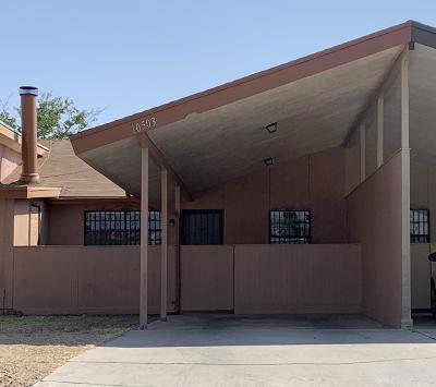 El Paso Condo/Townhouse For Sale: 10503 Sisal Drive