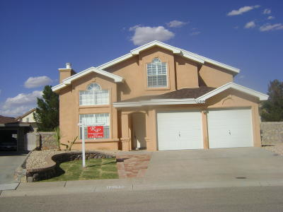 Vista Del Sol Single Family Home For Sale: 12209 Green Vine Court