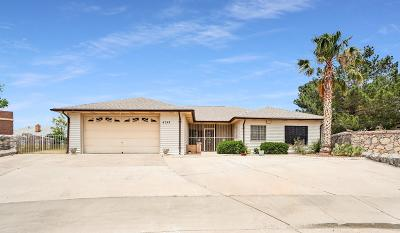 El Paso Single Family Home For Sale: 4347 Jon Cunningham Boulevard