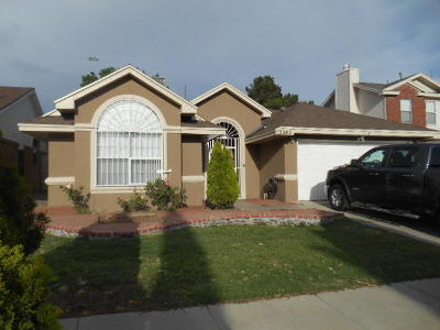 Vista Del Sol Single Family Home For Sale: 12282 Amstater Circle