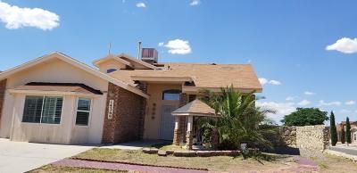Horizon City Single Family Home For Sale: 14369 Cocotitlan Drive