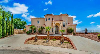 El Paso Single Family Home For Sale: 6476 Calle Del Sol Drive