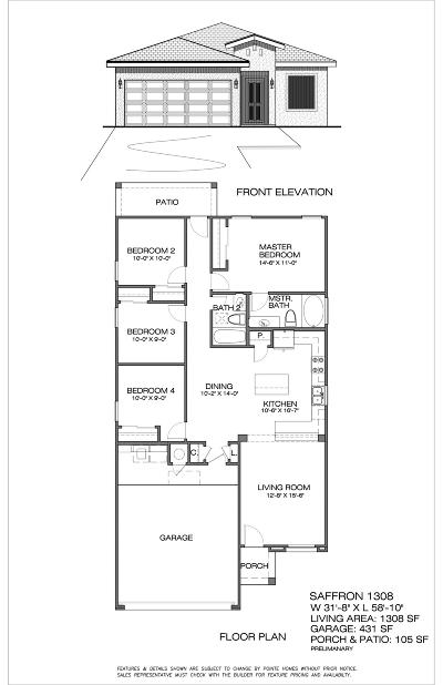 Single Family Home For Sale: 11614 Flor Marsha Street