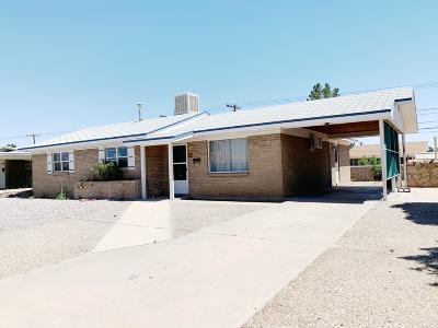 El Paso Single Family Home For Sale: 5716 Squires Court