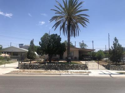 El Paso Single Family Home For Sale: 5903 Cleveland Avenue