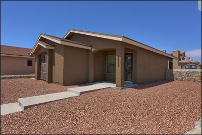 Single Family Home For Sale: 3913 Hueco Valley Drive