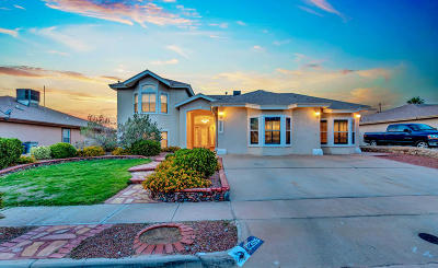 Single Family Home For Sale: 12305 Kit Carson Drive