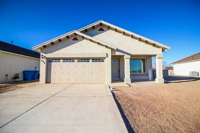 Socorro Single Family Home For Sale: 11704 Flor Celosia Drive