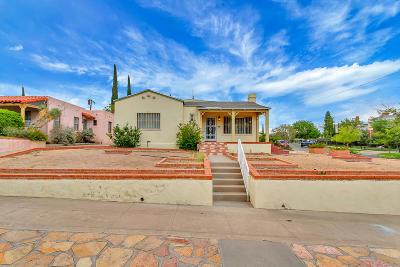 El Paso Single Family Home For Sale: 1700 Elm Street