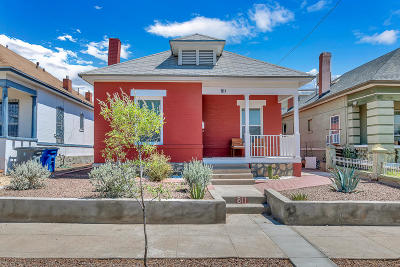 El Paso Single Family Home For Sale: 811 W Missouri Avenue