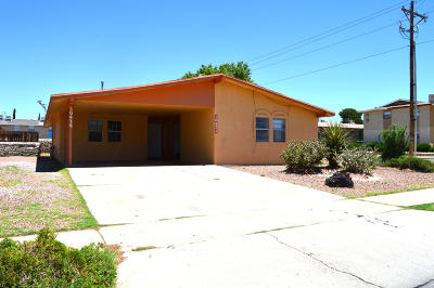El Paso TX Multi Family Home For Sale: $135,500