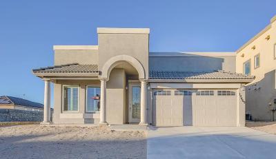 El Paso Single Family Home For Sale: 12420 Chamberlain Drive