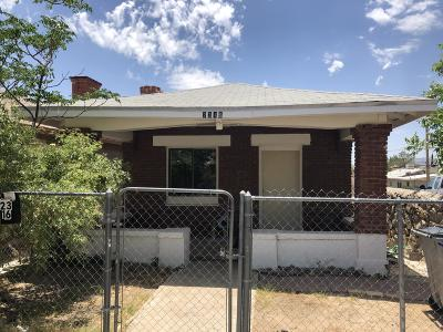 El Paso TX Multi Family Home For Sale: $104,850