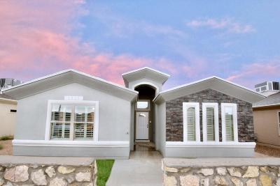 El Paso Single Family Home For Sale: 1909 Tim Foster Street