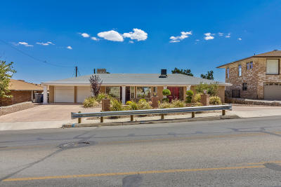 El Paso Single Family Home For Sale: 6245 Westwind Drive