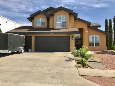El Paso Single Family Home For Sale: 12425 Tierra Cipres Drive
