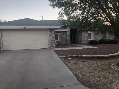 El Paso Single Family Home For Sale: 109 Calle Olaso Drive