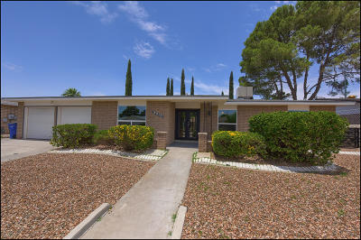 El Paso Single Family Home For Sale: 2913 Cabot Place