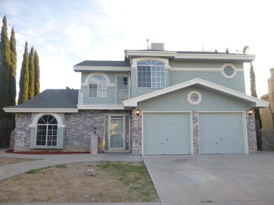 El Paso Single Family Home For Sale: 1729 Mitchell Jones Drive